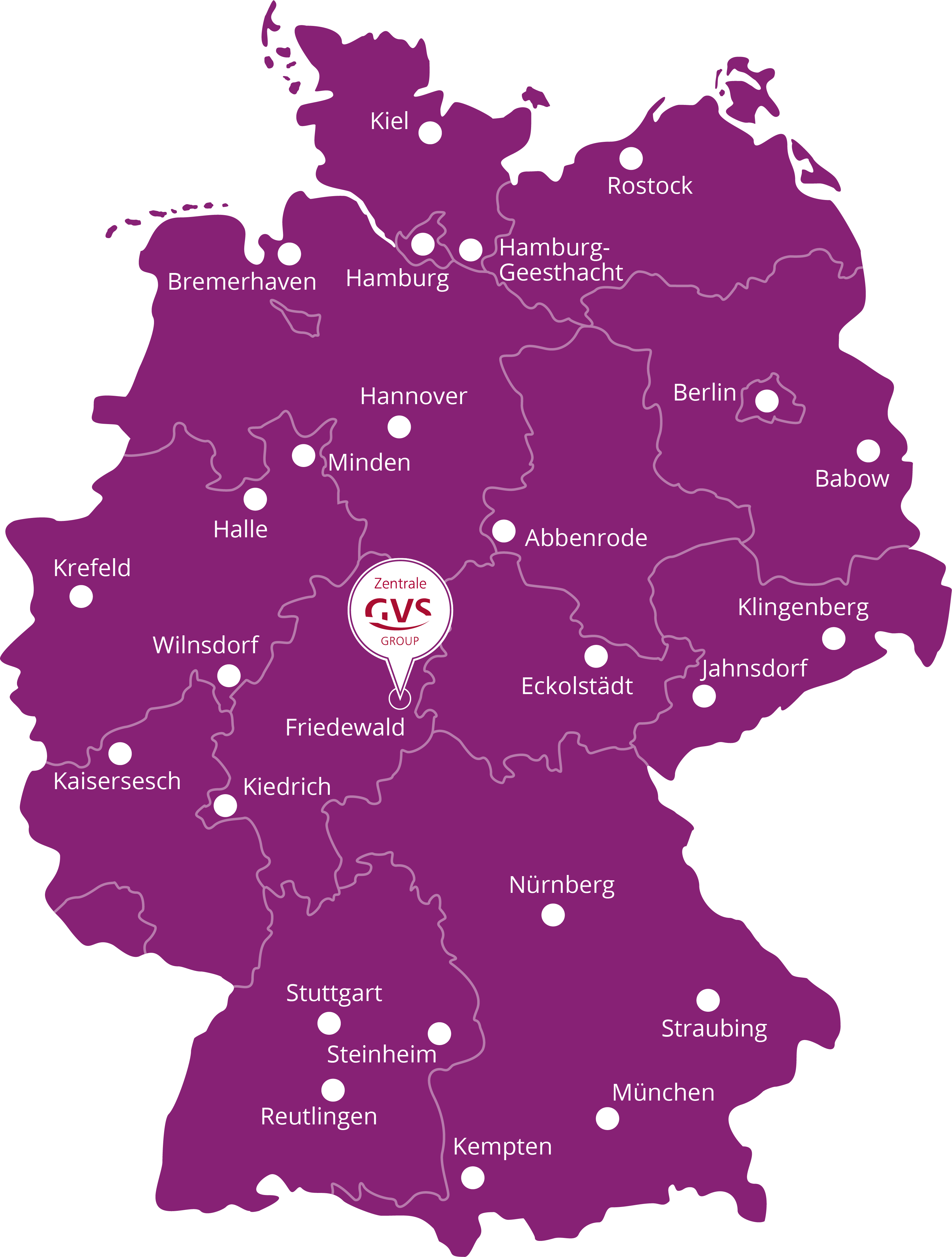 GVS Bezugsquellen in Deutschland